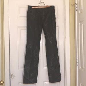 Balenciaga slim fit black pants